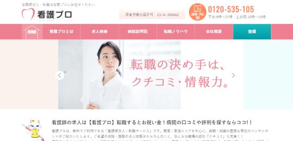 看護プロWebサイト